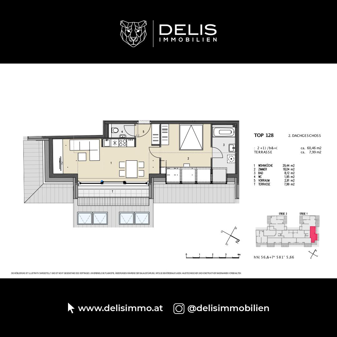 2. Dachgeschoss - TOP 128